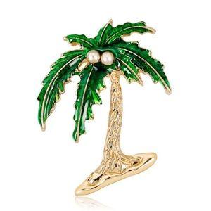 Palm Tree Brooch